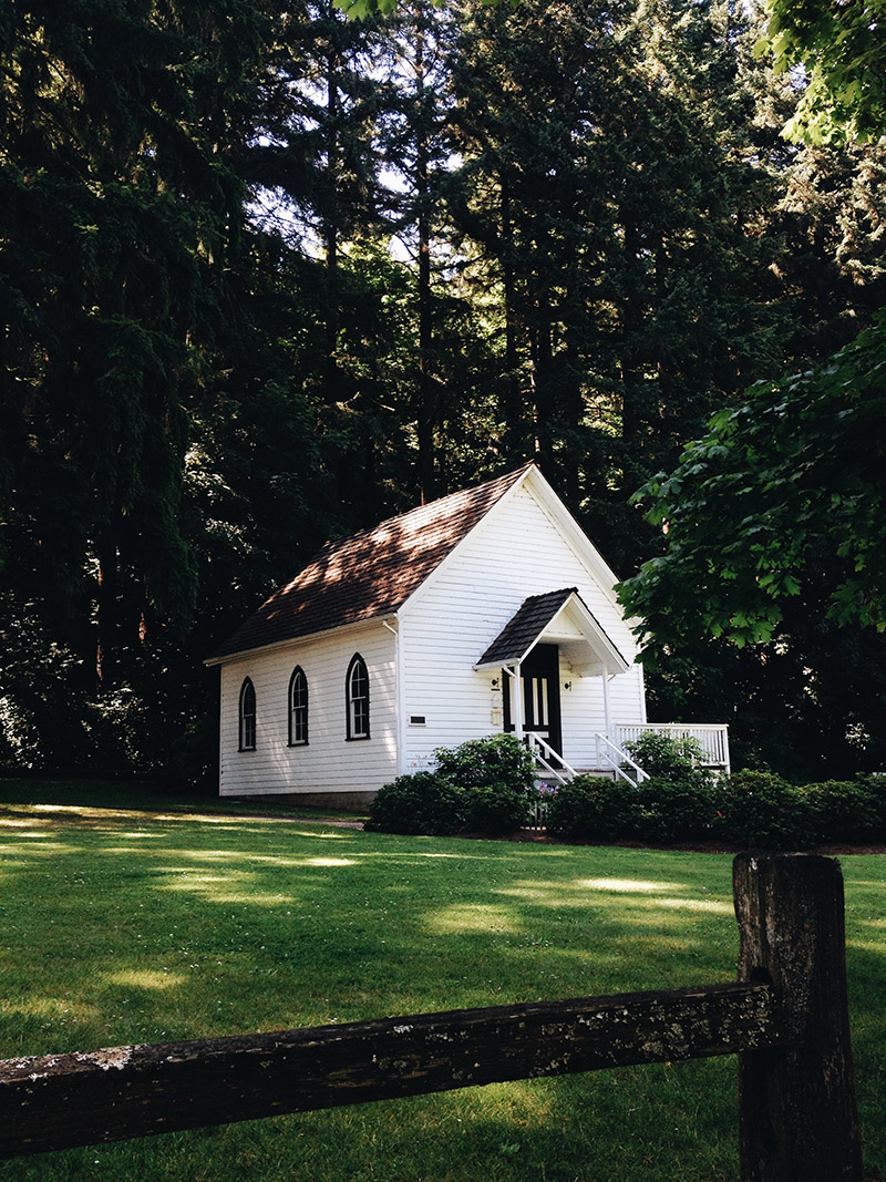 The Little Wedding Chapel In The Woods Adored Vintage Blog