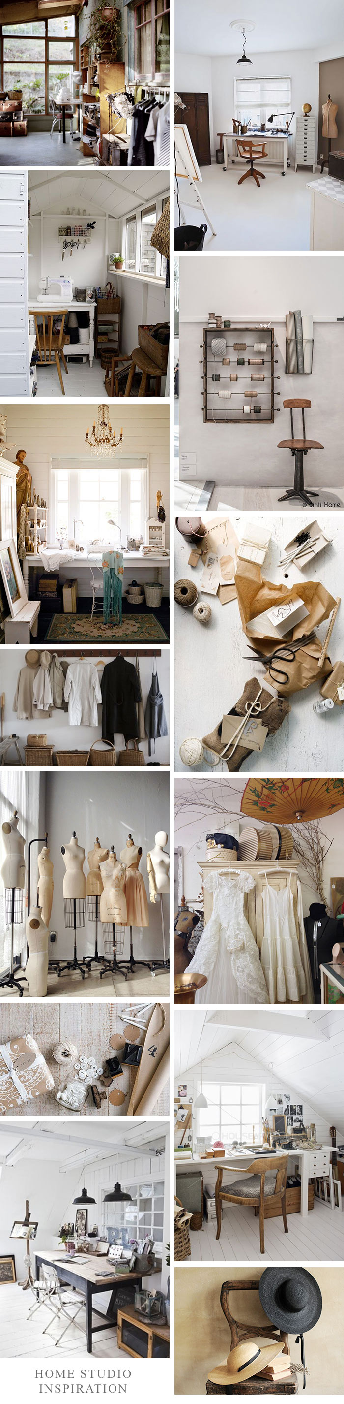 Adored Vintage Home Studio Inspiration