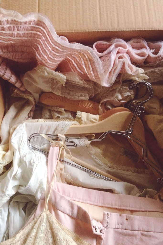 Packing up Adored Vintage