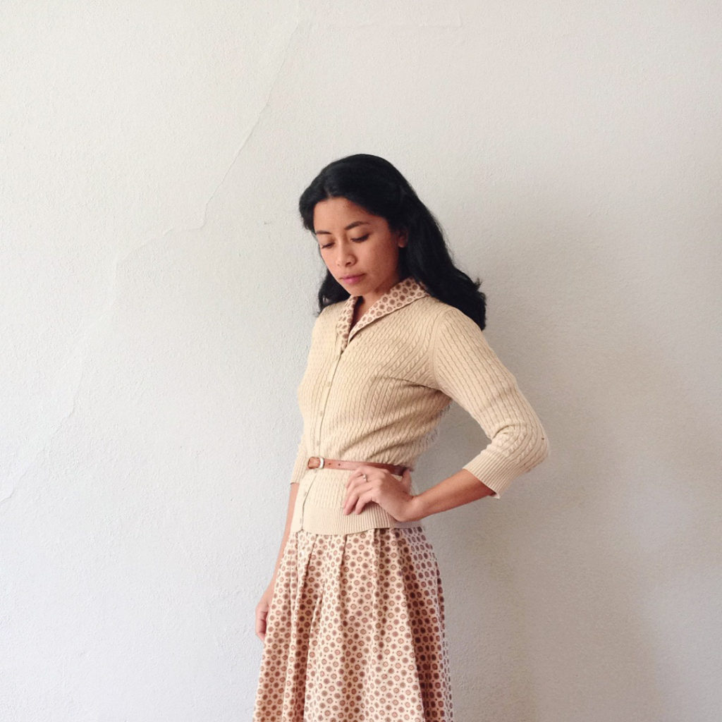 Adored Vintage   Vintage inspired outfit