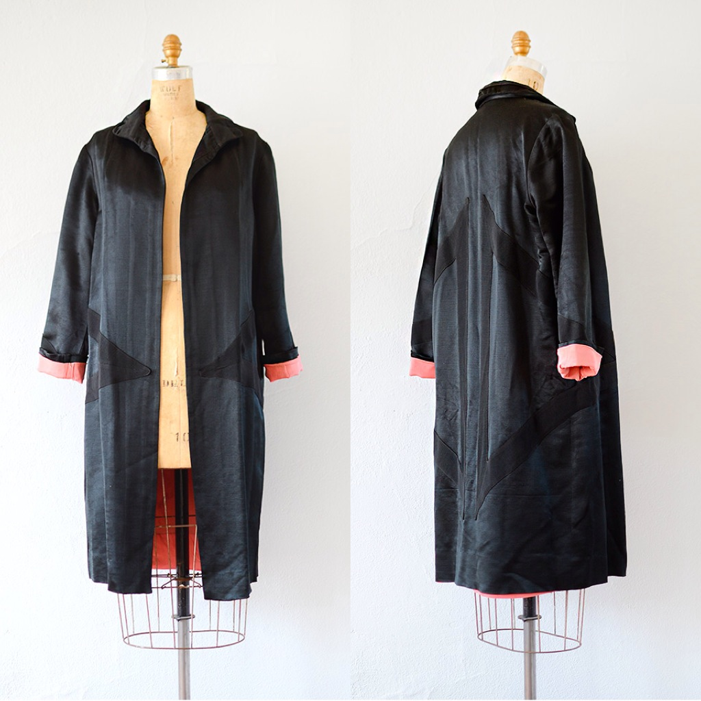 Vintage 1950s coat from Adored Vintage