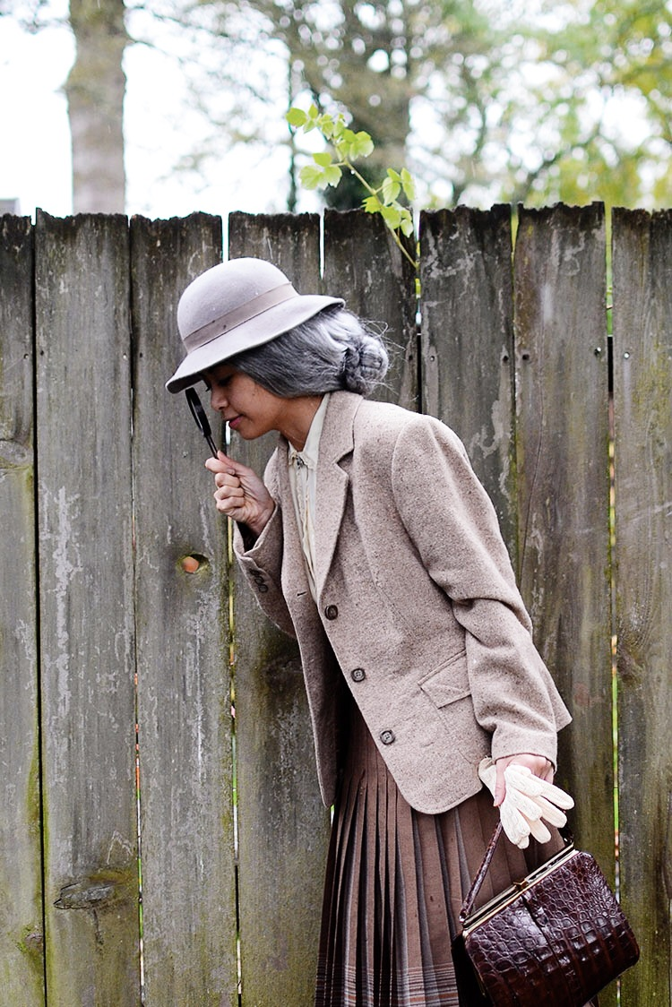 Vintage Miss Marple Costume
