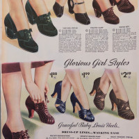 Inspiration for Photographing Vintage Shoes