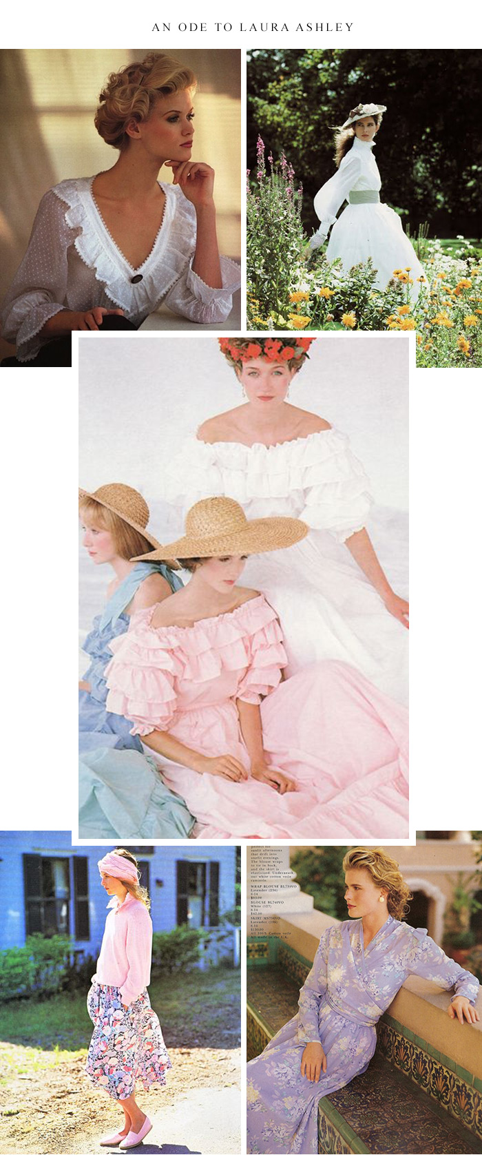 An Ode to Laura Ashley