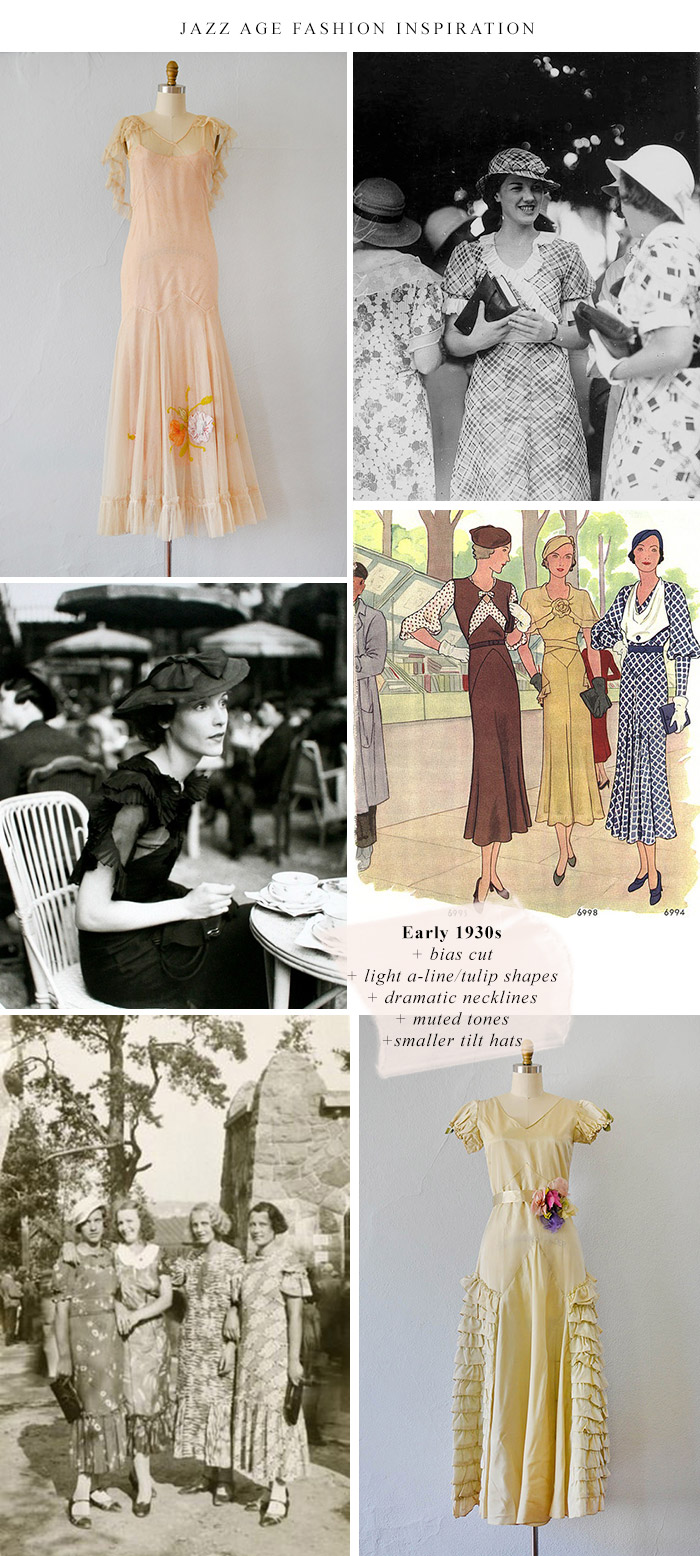 Jazz Age Fashion Inspiration / 1930s