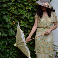 1920s 1930s Prohibition Picnic at Historic Overlook House in Portland