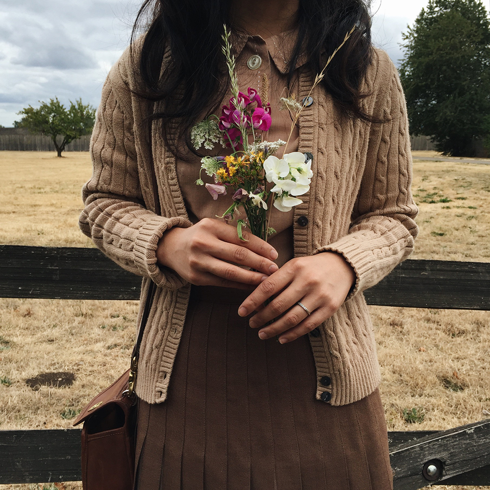 Adored Vintage | The Joy of Picking Flowers