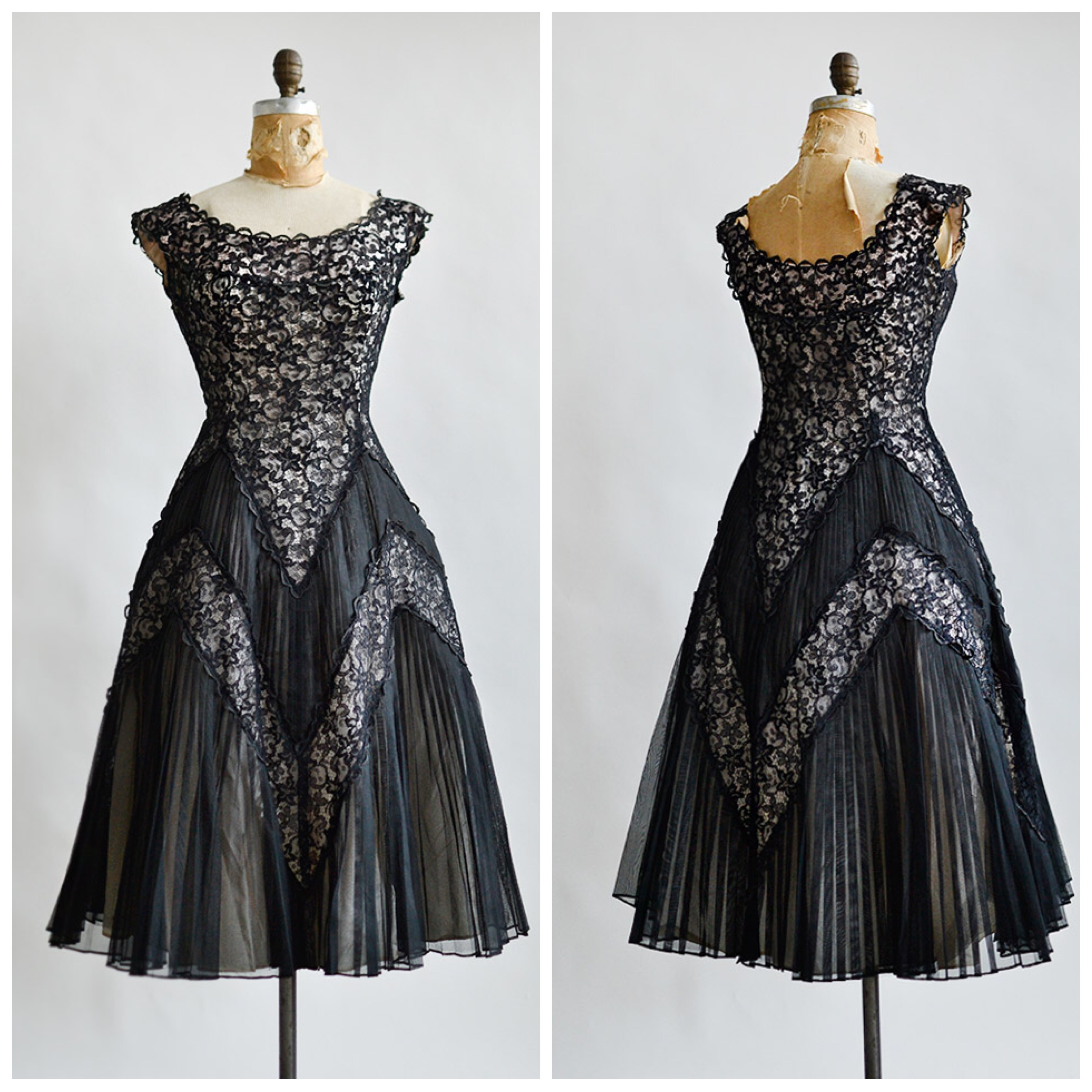 TWEET_vintage1950sblackchantillylacedress