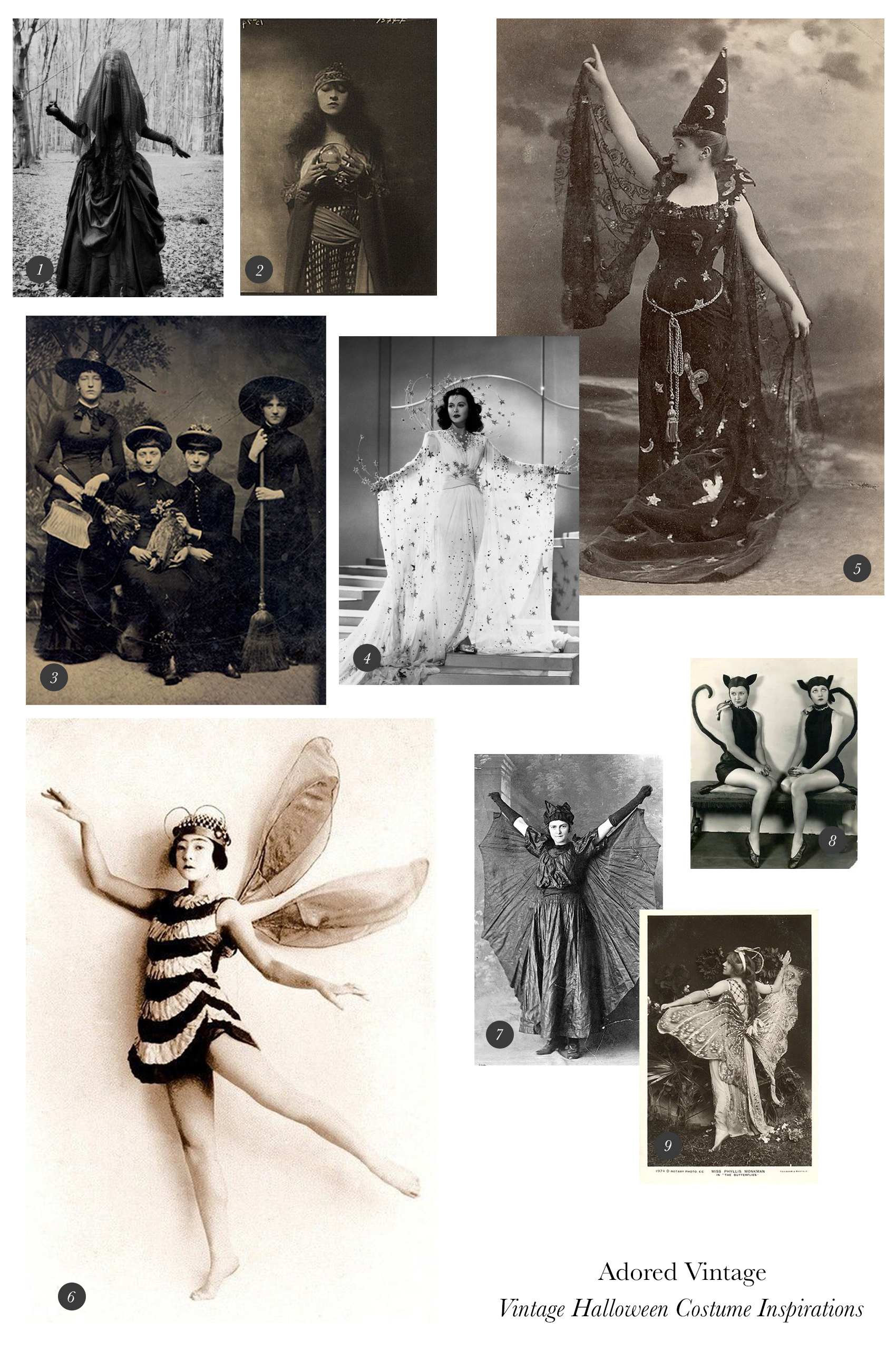 Vintage Halloween Costume Blog Post