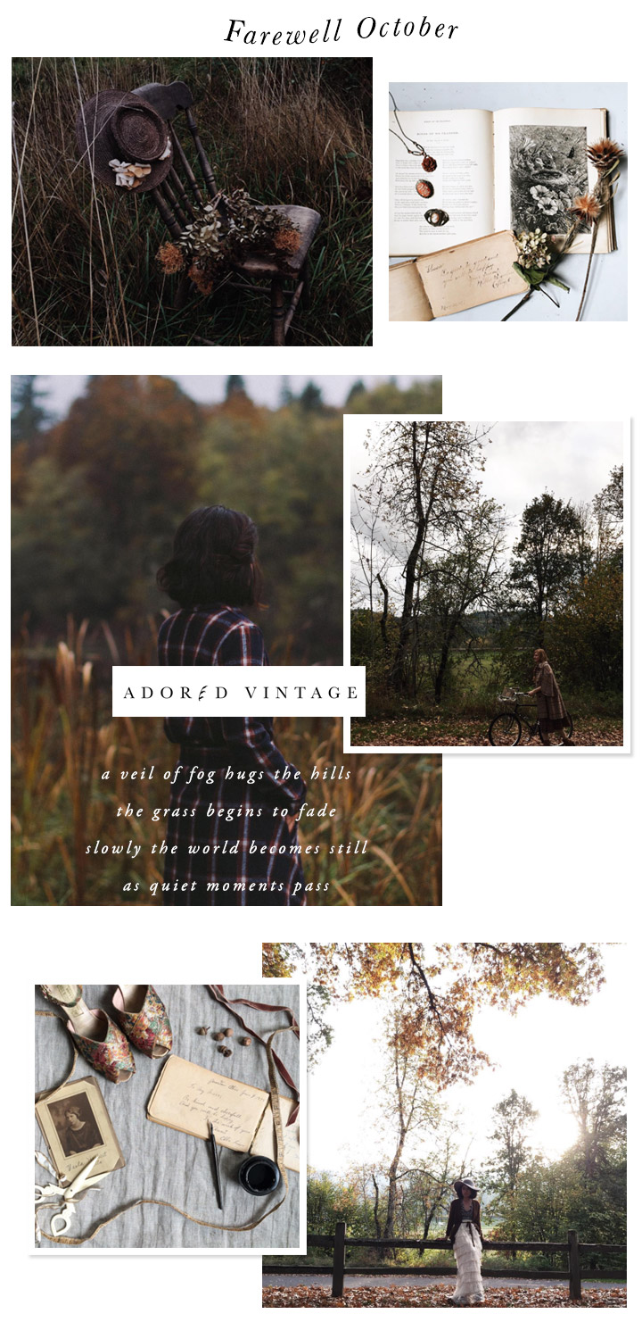 Farewell October, Adored Vintage