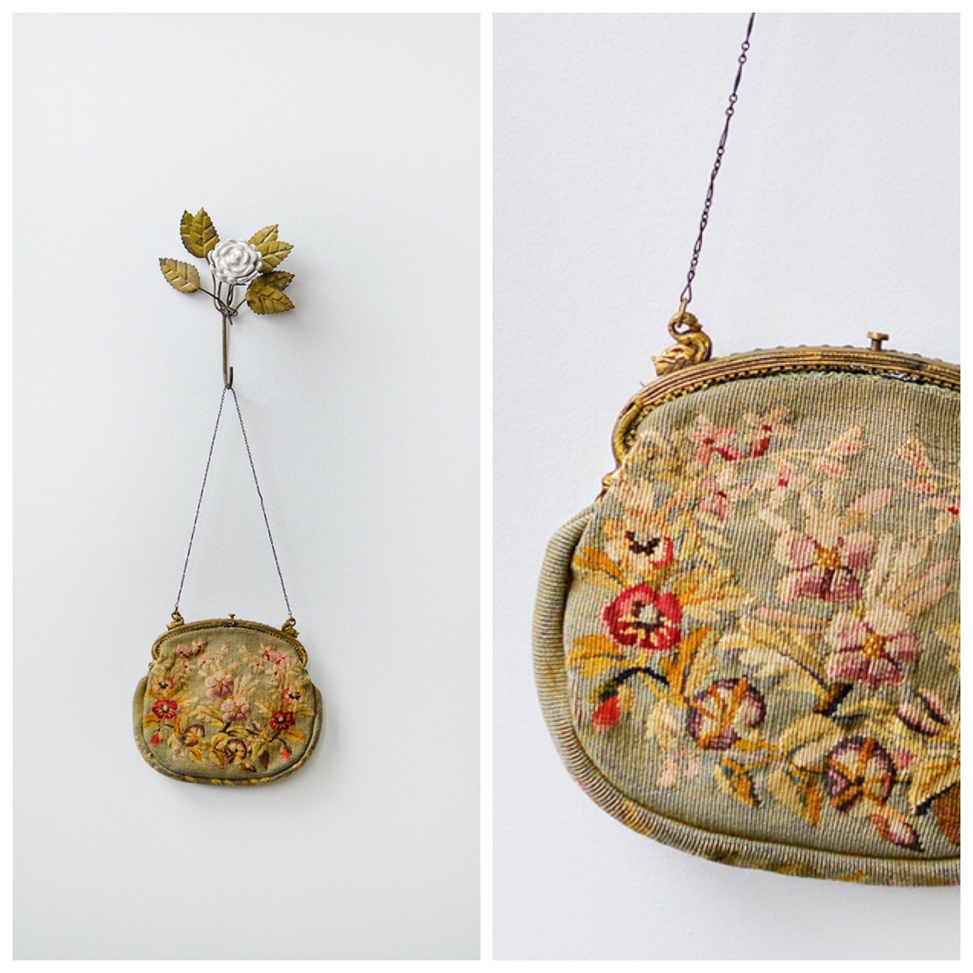 TWEET_antique1900ssagegreenfloraltapestrybag