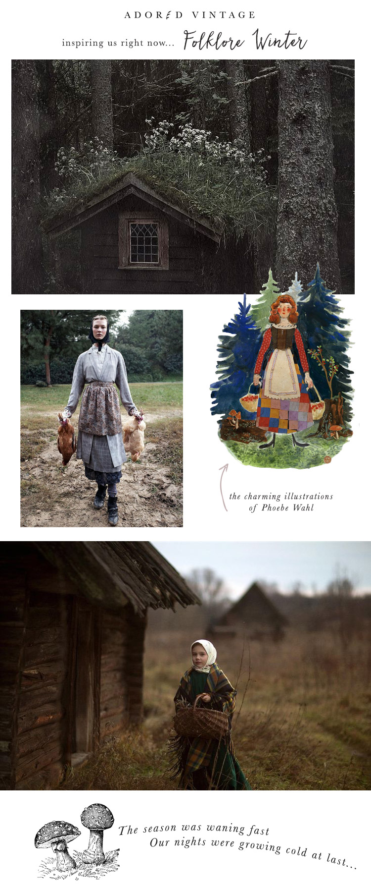 Folklore Winter Inspiration