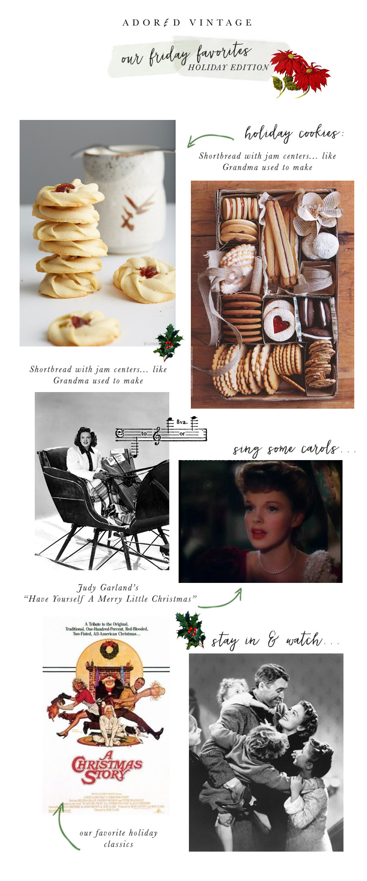 Adored Vintage Friday Favorites: Holiday Edition
