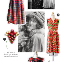 Vintage Holiday Picks from Adored Vintage