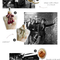 Vintage Style Notes | Teddy Girls