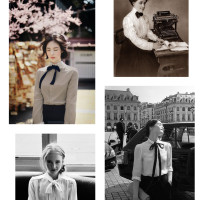 Vintage Style Notes: Secretary Bows
