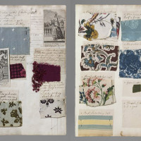 Inspiration: 18th Century Fabric Sample Book