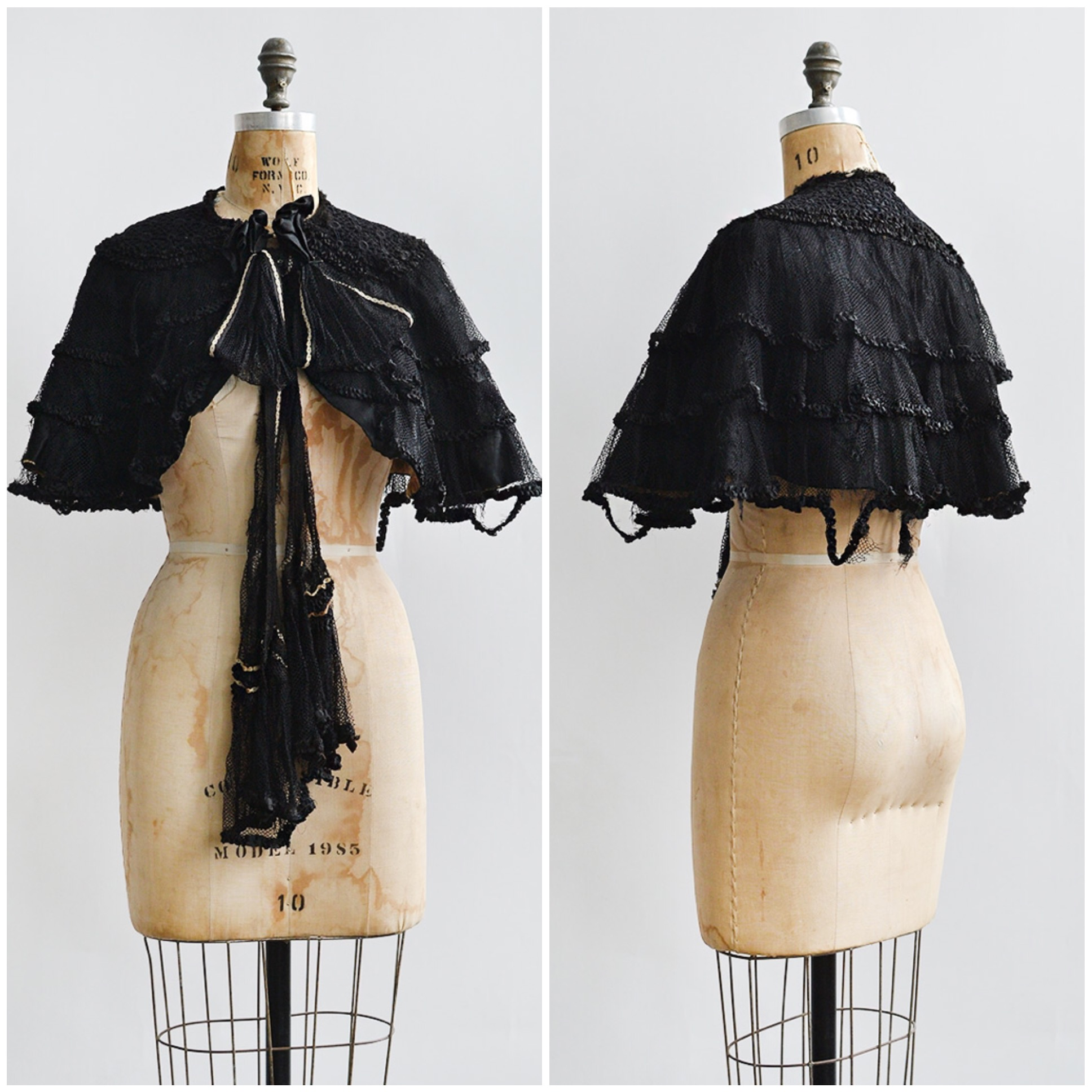 TWEET_antique1800svictorianblackmourningcape