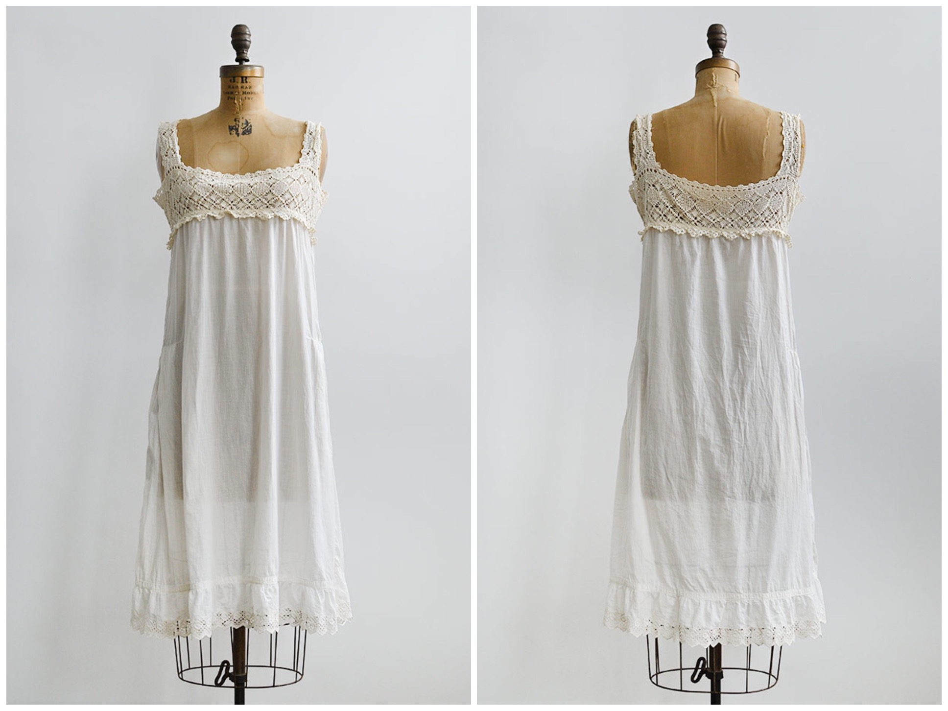 TWEET_antique1910scottoncrochetyokenightdress