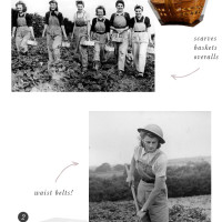 Vintage Style Notes | Land Girls