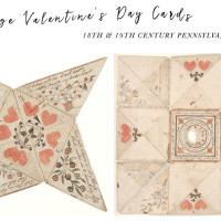 Vintage Valentine's Day | Antique Fraktur Love Letters