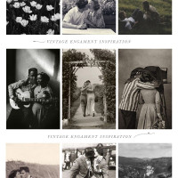 Engagement Photo Inspiration from the Past
