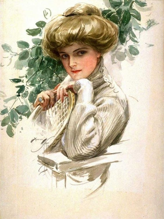 Gibson Girl Illustration