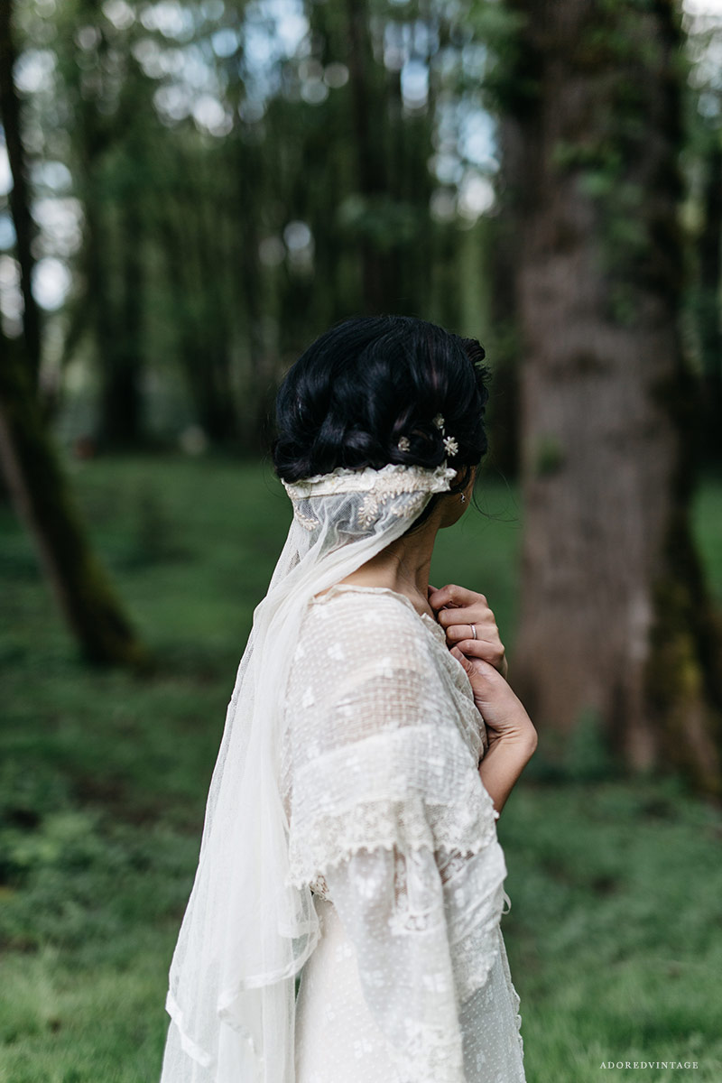 Antique Vintage Wedding Veil | Adored Vintage