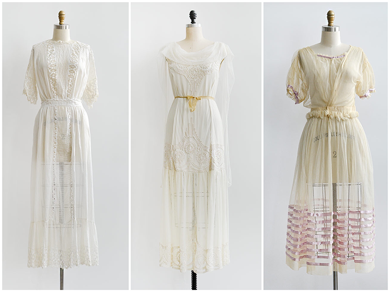 Adored Vintage | Vintage And Antique Wedding Dresses