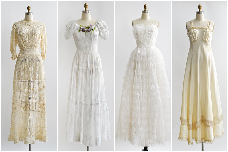 Adored Vintage And Antique Wedding Dresses