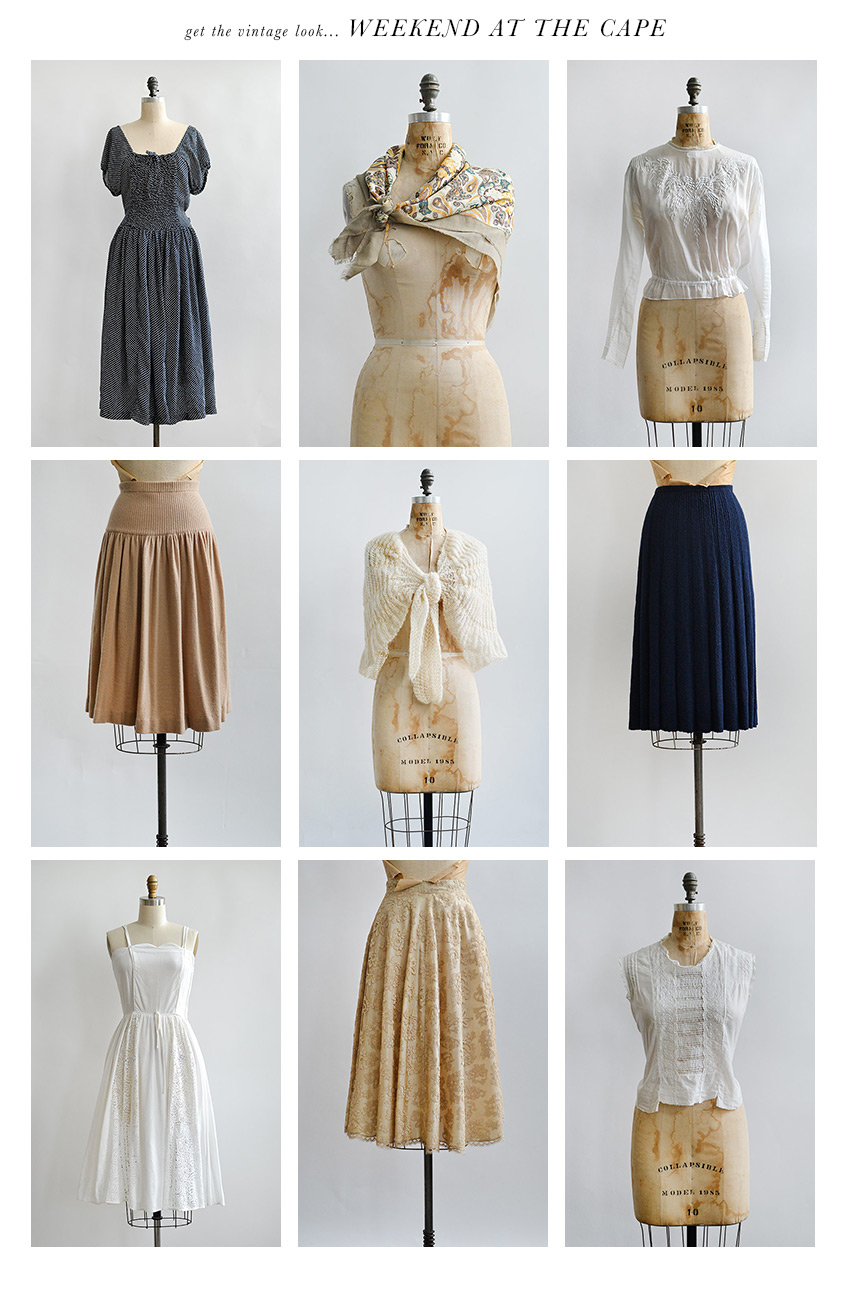 Vintage Clothing | Weekend at the Cape