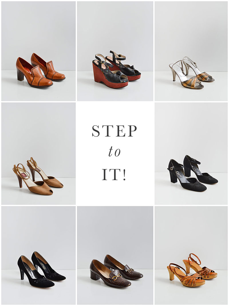 Adored Vintage | Vintage Shop Update | Step to It!