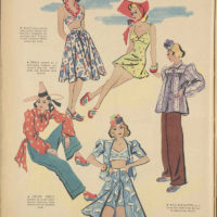 1939 Vintage Beach Fashion from Women's Weekly Australia
