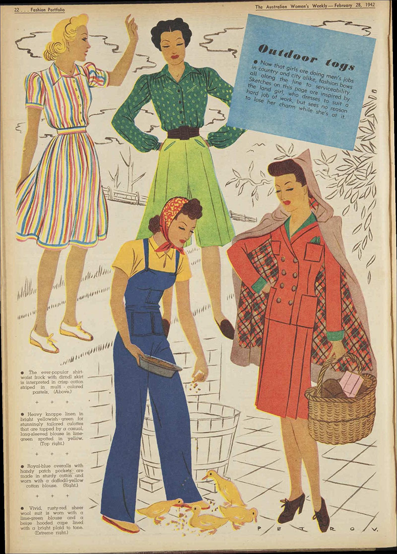 Vintage 1942 Daywear Fashion-1