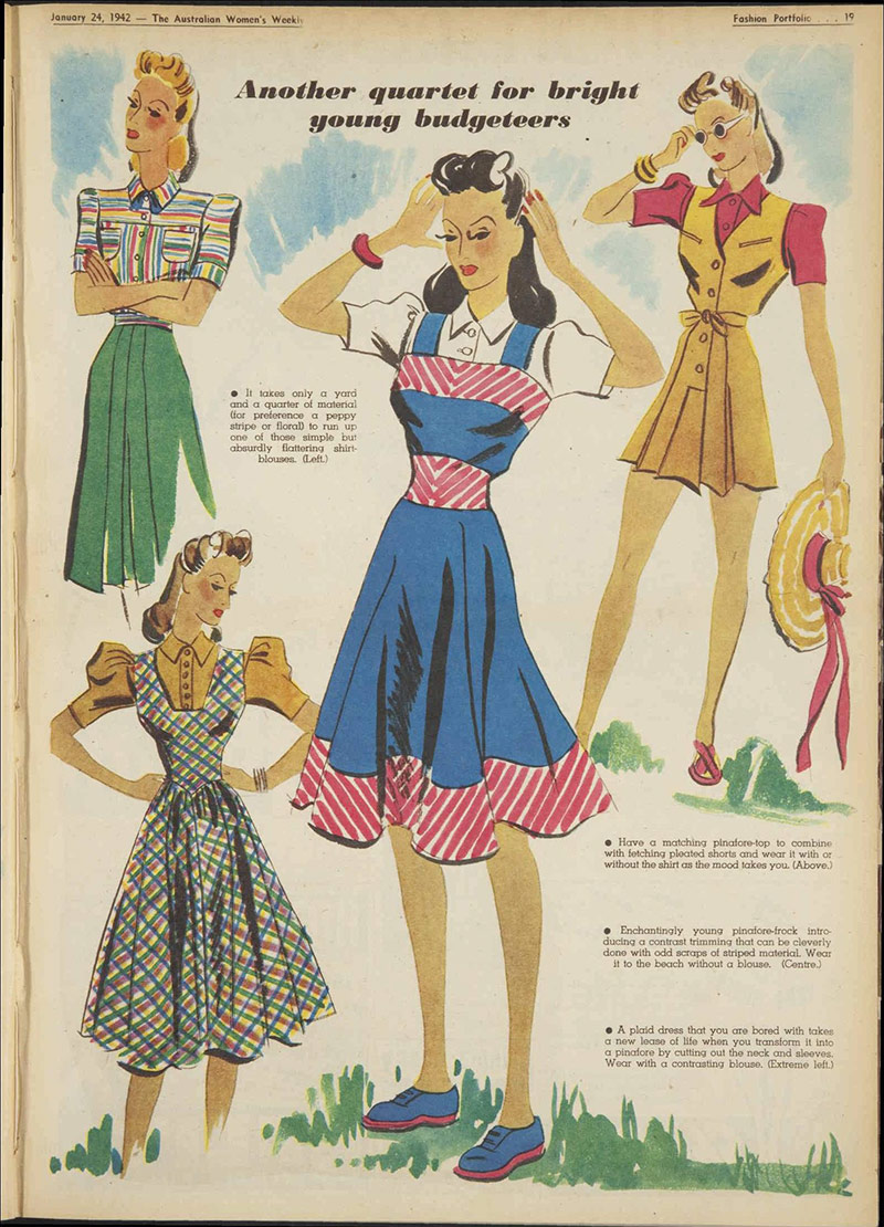 Vintage 1942 Daywear Fashion-1-2