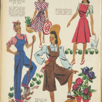 1942 Vintage Daywear from Women's Weekly Australia