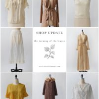 Vintage Shop Update | The Turning of the Leaves