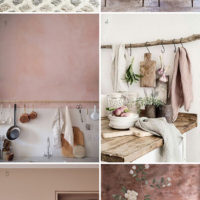 Vintage Inspired Home: A Bit of Blush