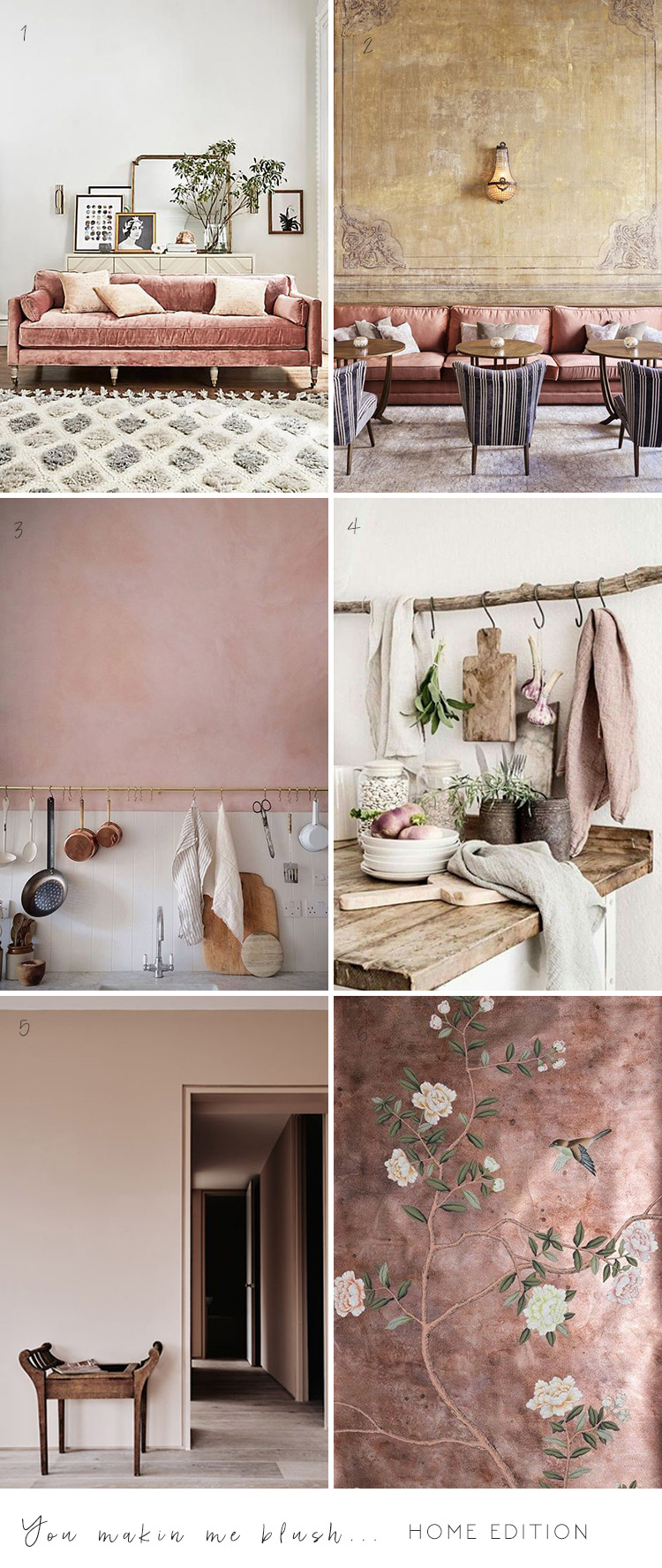 Home Inspiration: Blush Pink
