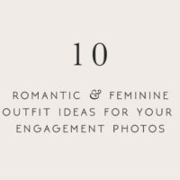 10 Romantic Vintage Inspired Outfit Ideas For Your Engagement Photos
