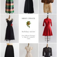 Vintage Shop Update | Holiday Soiree