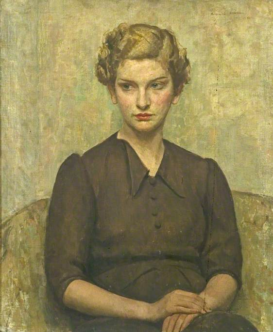 Mason, Arnold; Portrait of a Young Woman; Derby Museums Trust; http://www.artuk.org/artworks/portrait-of-a-young-woman-60969