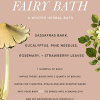 Staying In | A Winter Herbal Bath