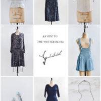 Vintage Shop Update | An Ode to the Winter Blues