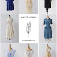 Vintage Shop Update | Lady of Marissel