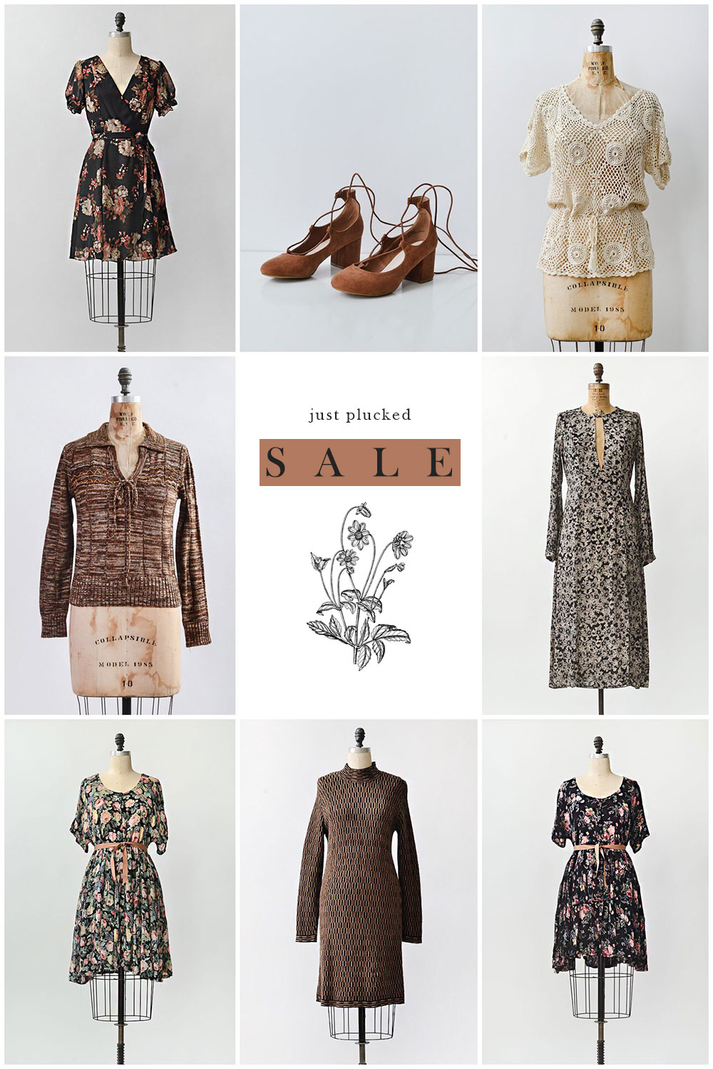 Adored Vintage / New Markdowns in SALE SECTION